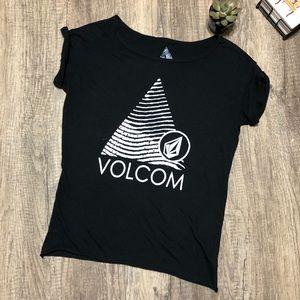 Black Volcom Tee